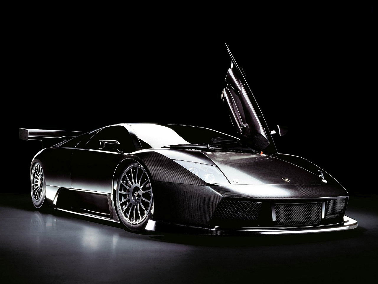 Black Lamborghini Wallpaper | CARS