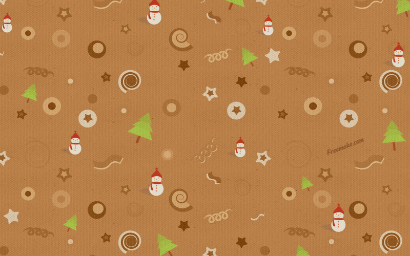 Christmas Brown Background - Christmas Brown Background