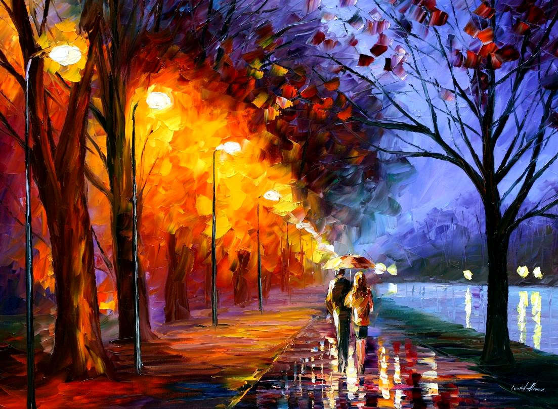Exotic Love Painting - Exotic Love Painting