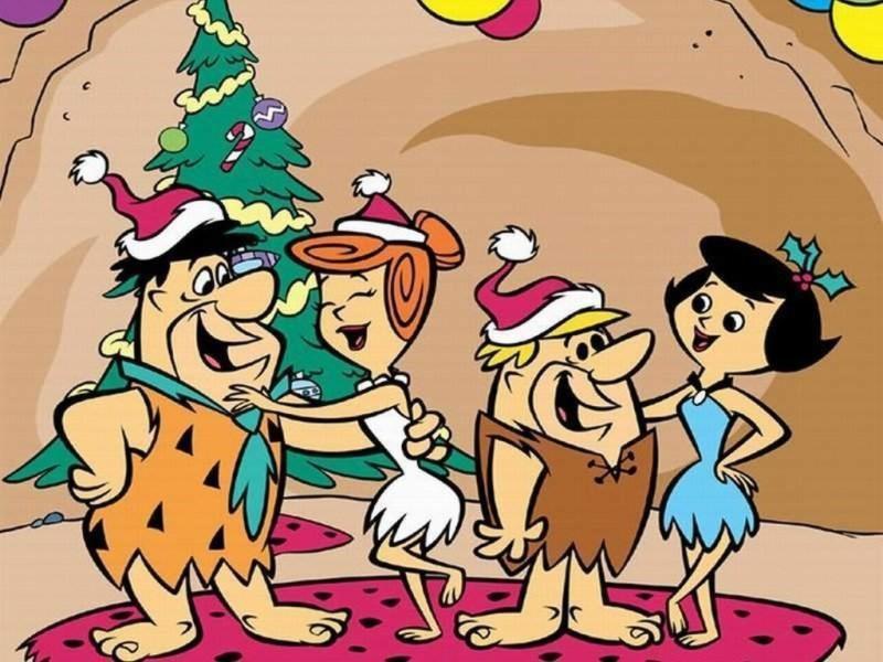 Flintstones Christmas Wallpaper - Flintstones Christmas Wallpaper