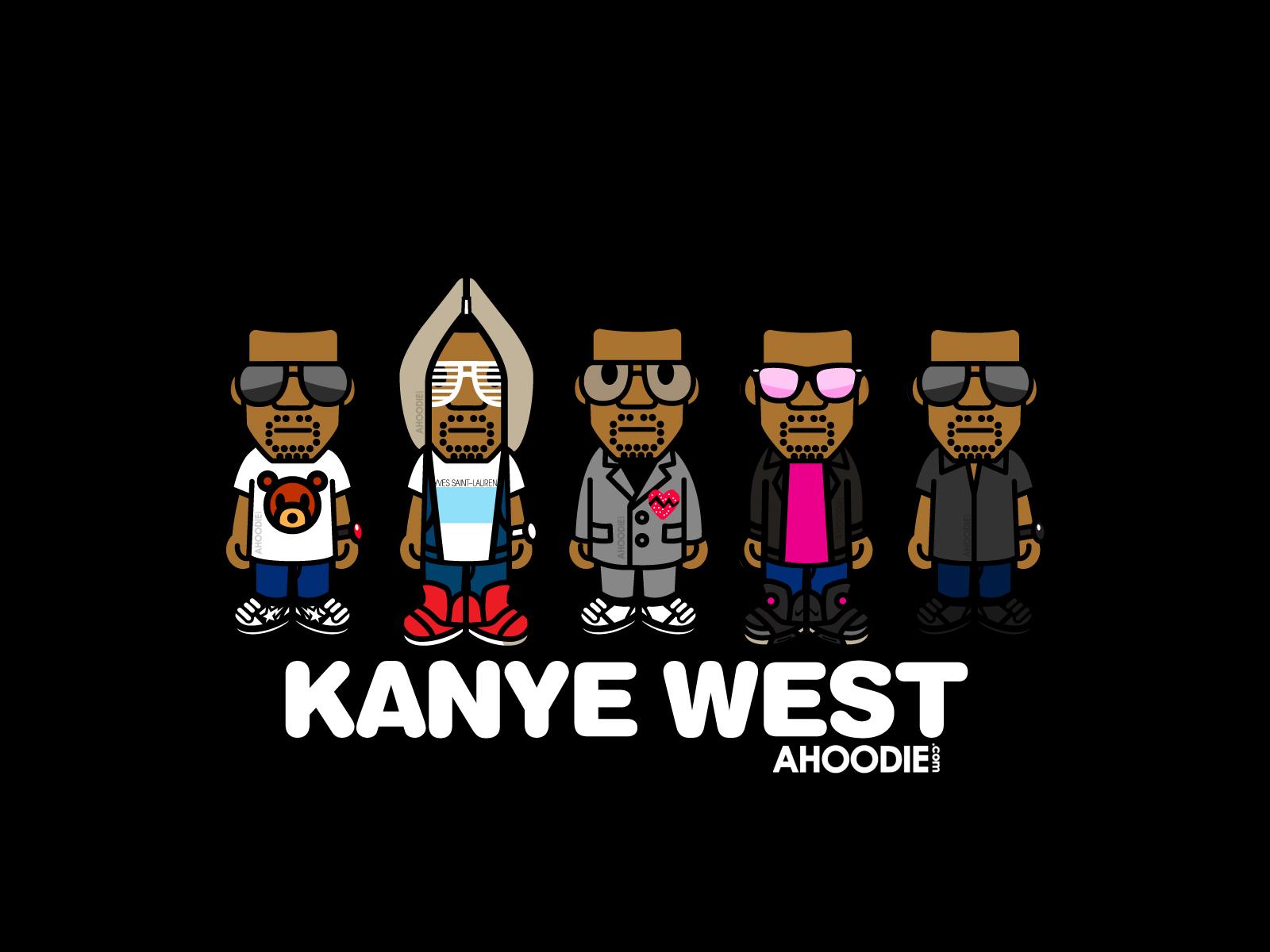 Kanye West Cartoon Wallpaper - Kanye West Cartoon Wallpaper
