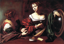 Le Sante Marta E Maddalena Painting - Le Sante Marta E Maddalena Painting