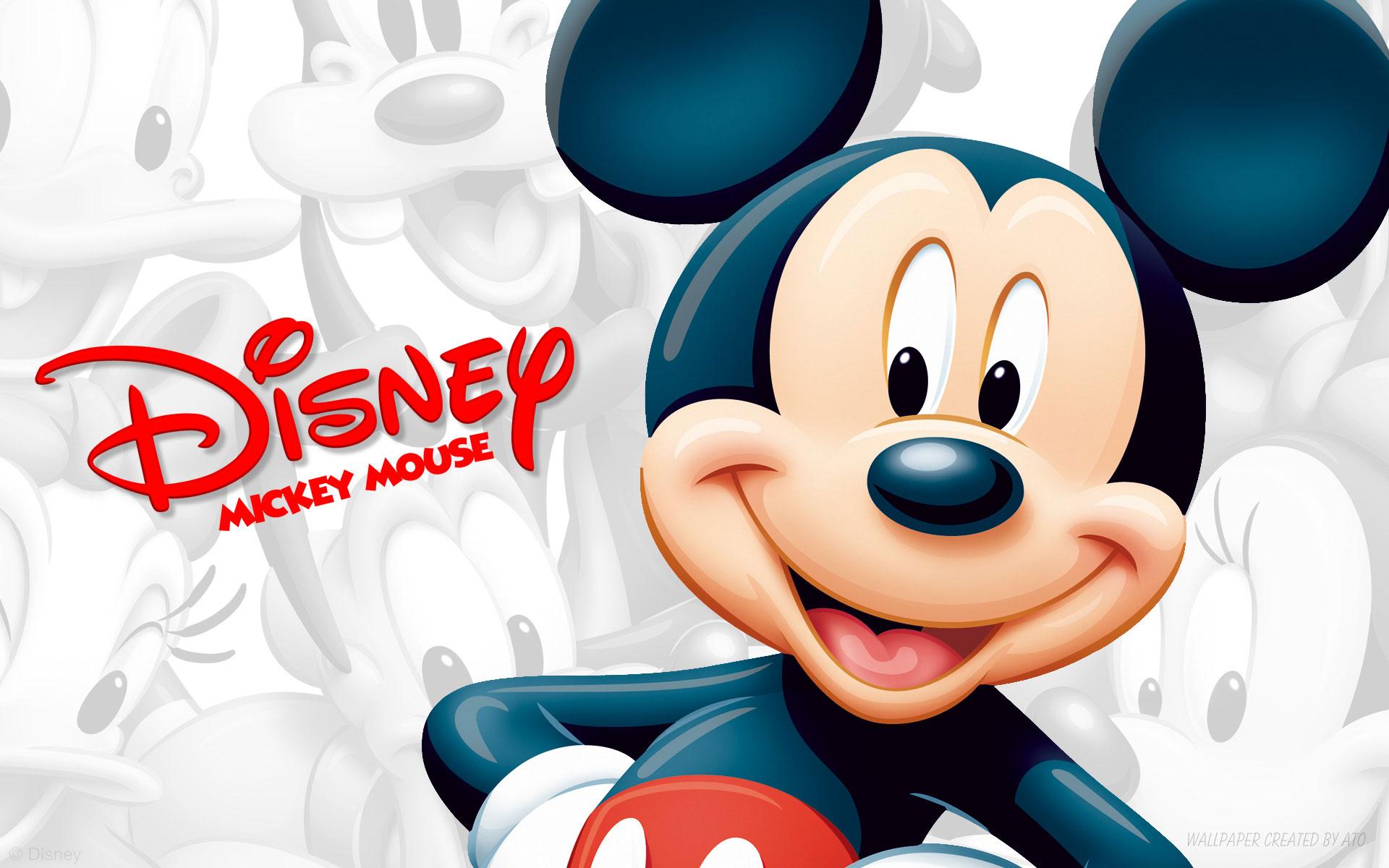 Mickey Mouse 3D Wallpaper - Mickey Mouse 3D Wallpaper