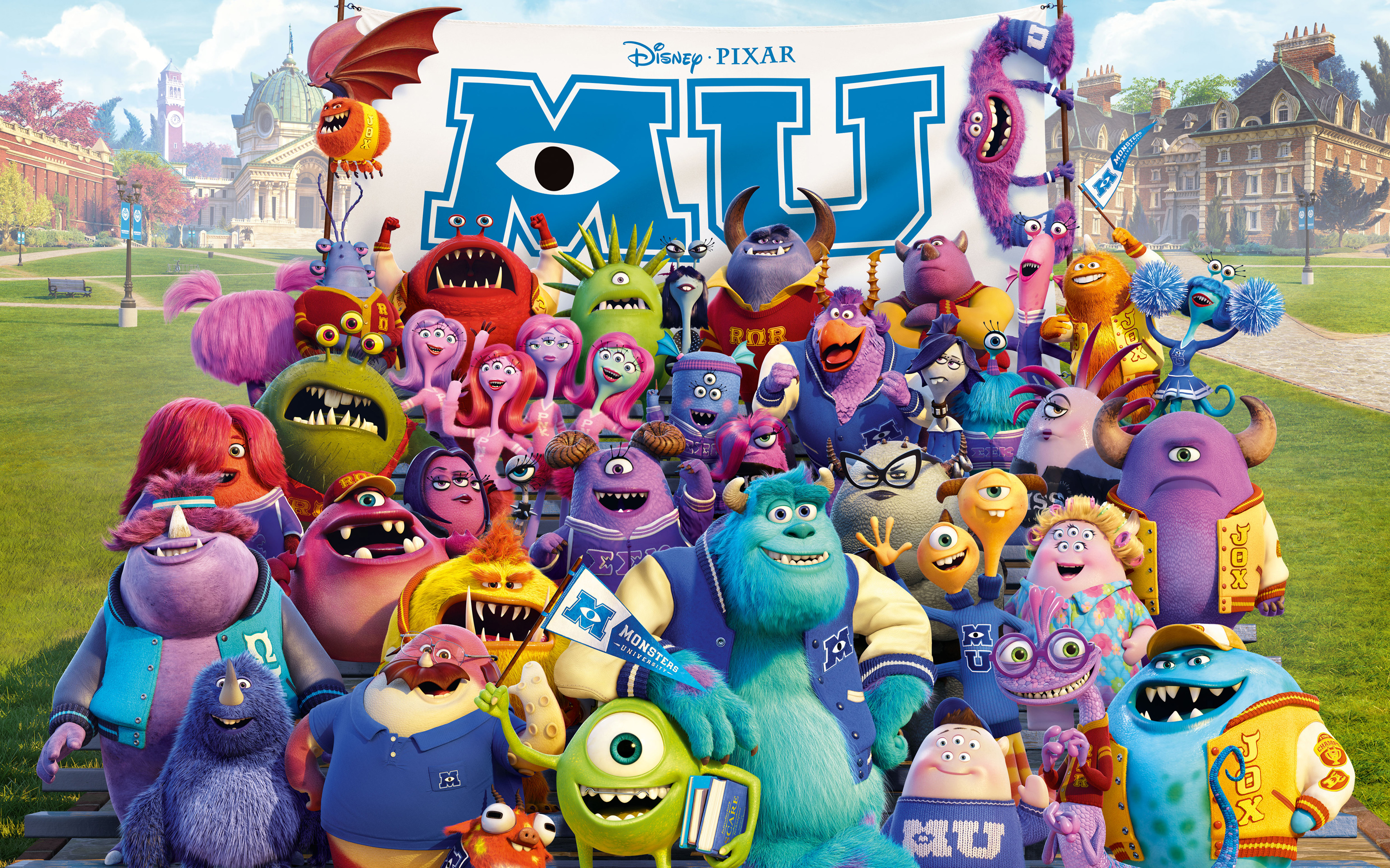 Monsters University 2013 Wallpaper - Monsters University 2013 Wallpaper