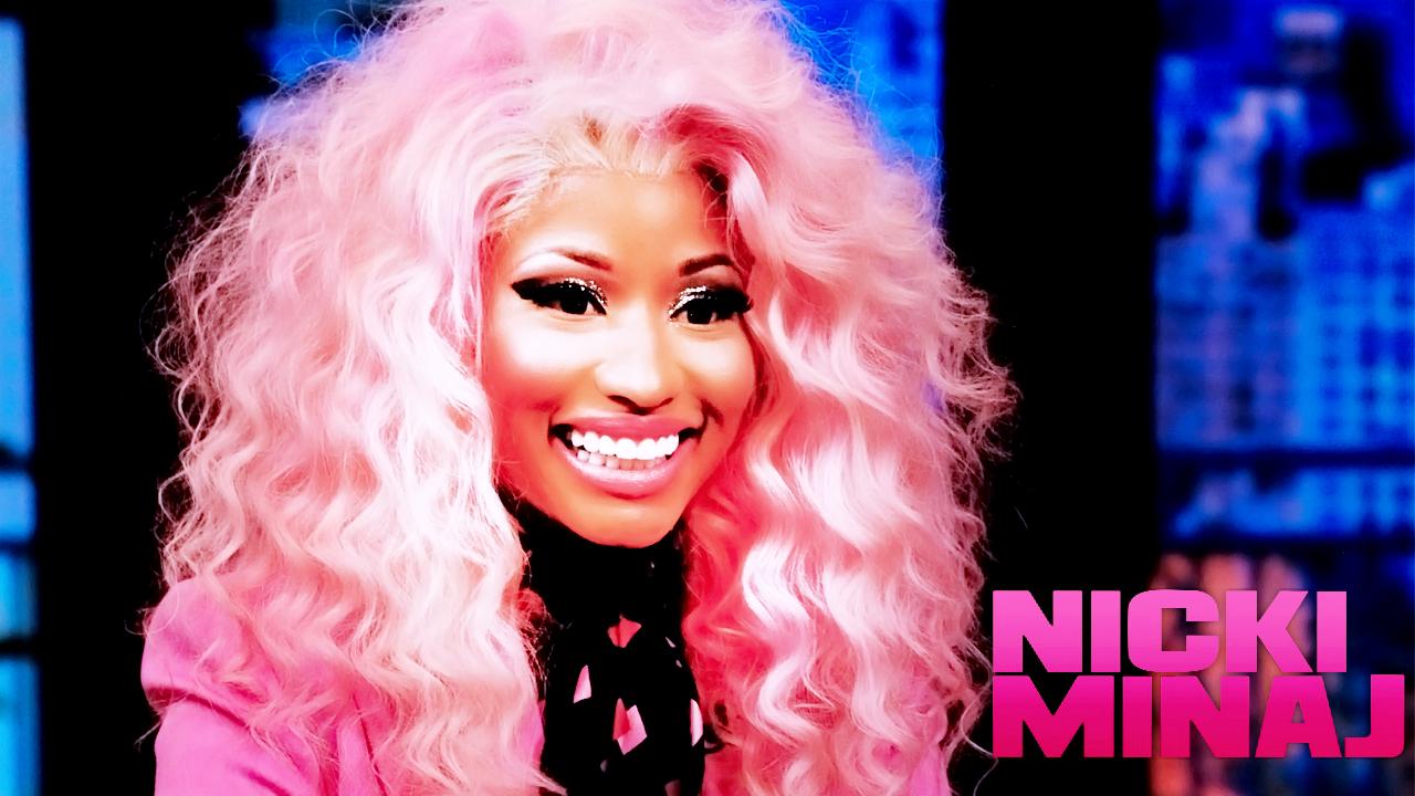 Nicki Minaj Pink Hair Wallpaper Movie