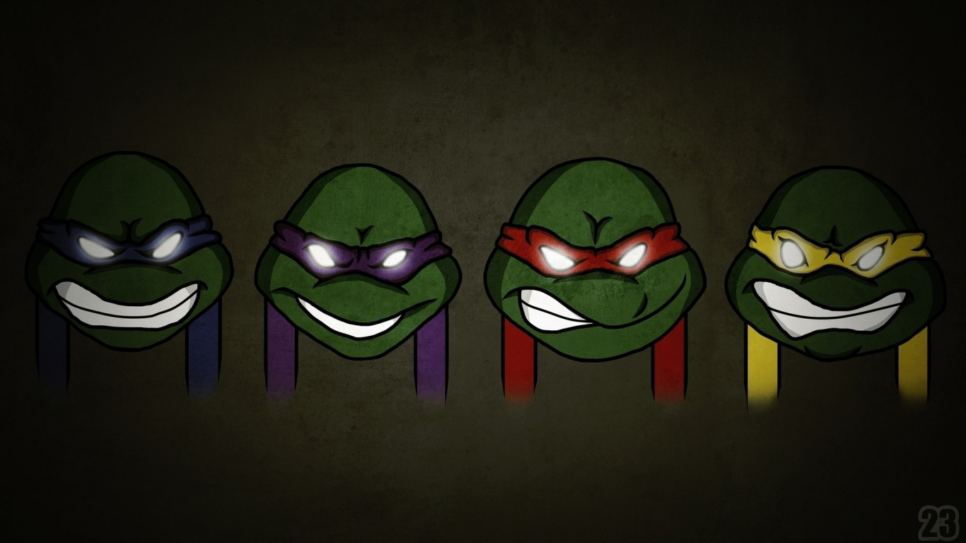 Ninja Turtles Wallpaper Cartoon