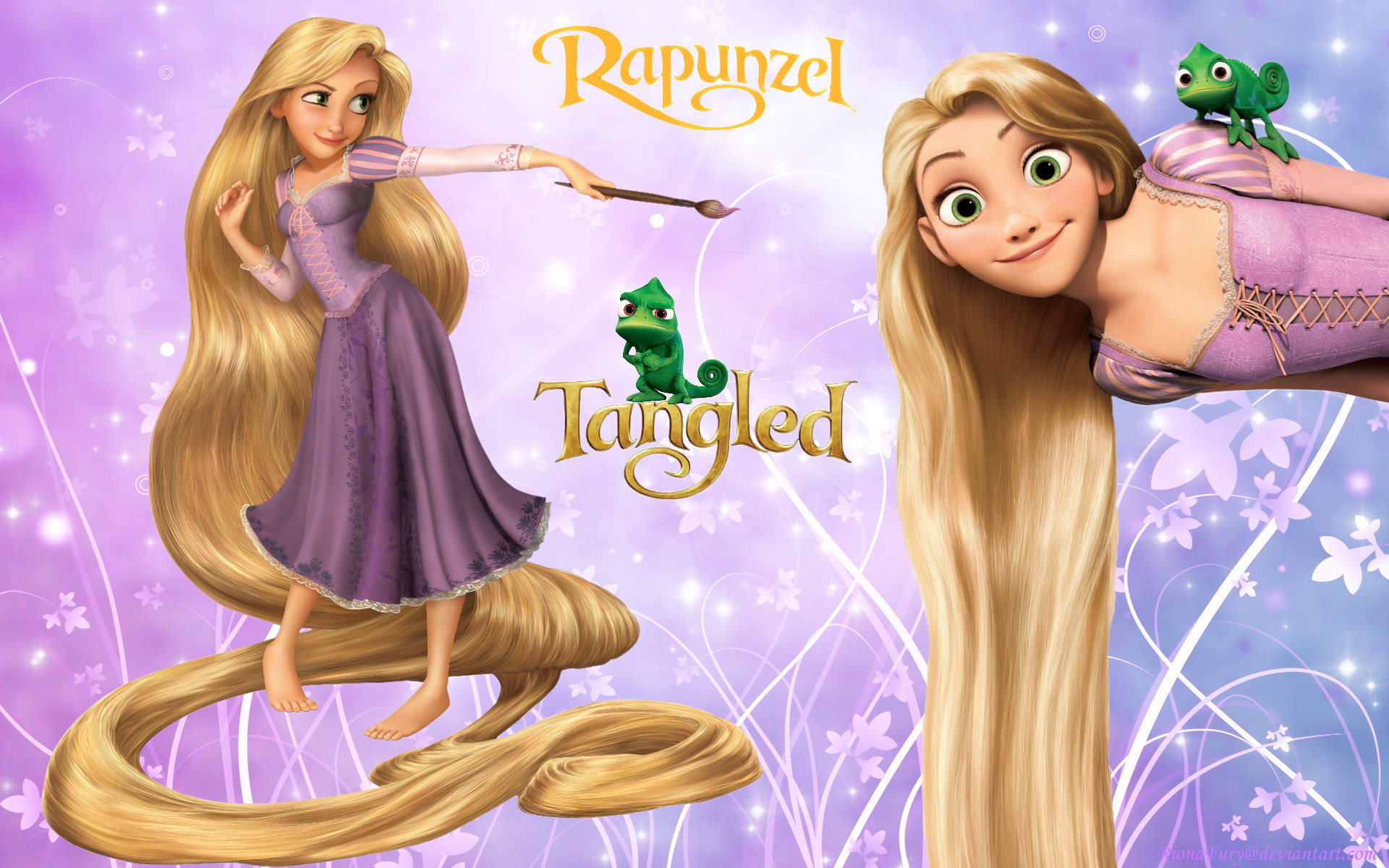 Princess Rapunzel Tangled Movie