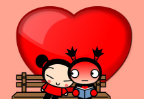Pucca Couple Wallpaper - Pucca Couple Wallpaper