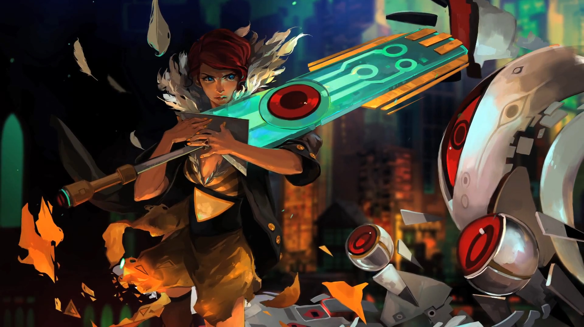 Red Transistor 3d Wallpaper Game