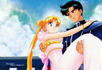 Sailor Moon And Tuxedo - Sailor Moon And Tuxedo