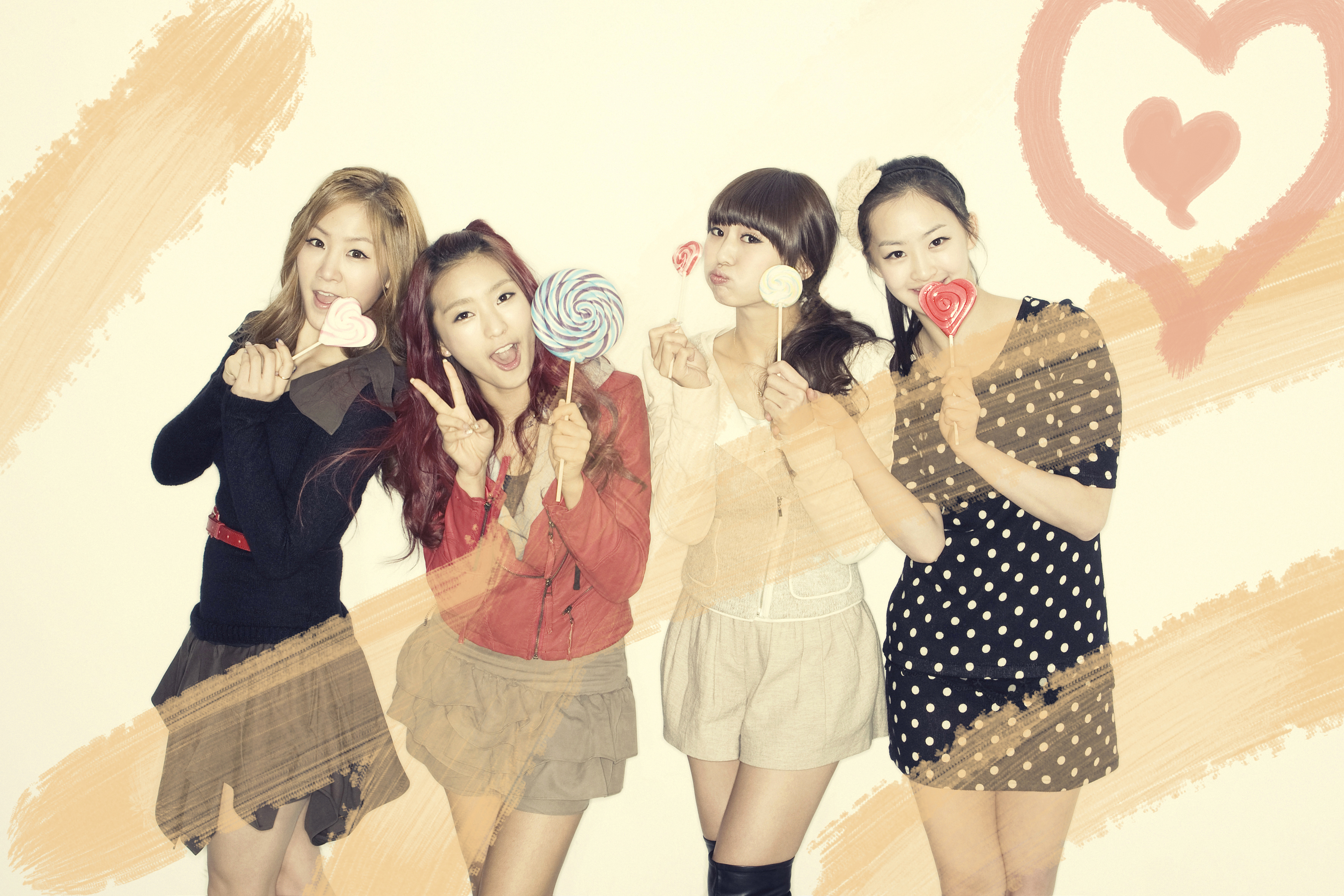 Sistar Lolipop Wallpaper - Sistar Lolipop Wallpaper