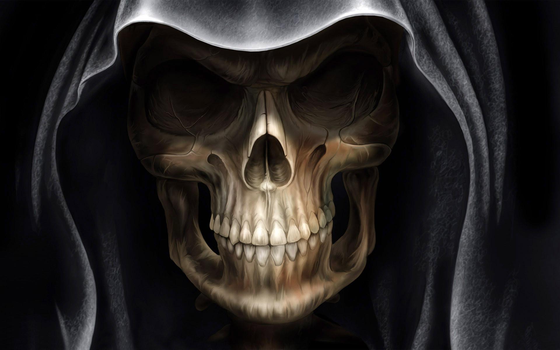 Skull HD Wallpaper - Skull HD Wallpaper