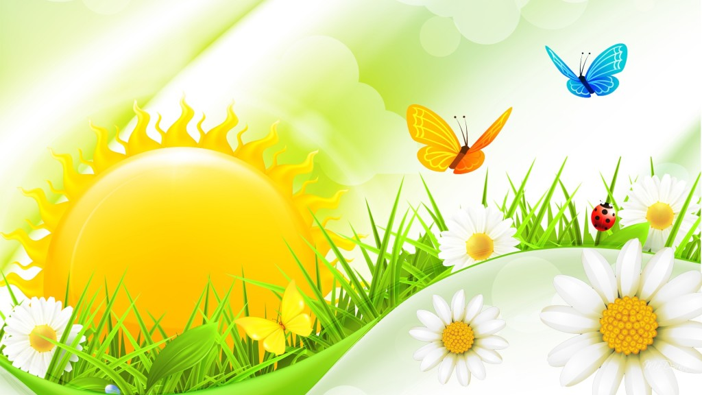 Summer Bright Wallpaper - Summer Bright Wallpaper