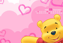 The Pooh Pink Wallpaper - The Pooh Pink Wallpaper