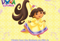 Yellow Princess Dora The Explorer - Yellow Princess Dora The Explorer