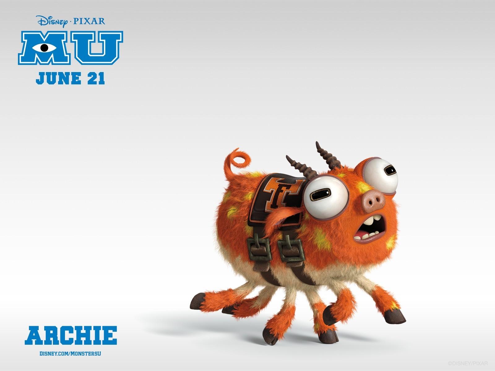 Archie Monsters University HD Wallpaper - Archie Monsters University HD Wallpaper