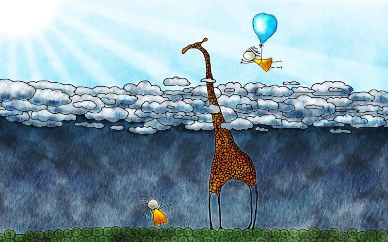 Balloons Playing But Raining - Balloons Playing But Raining