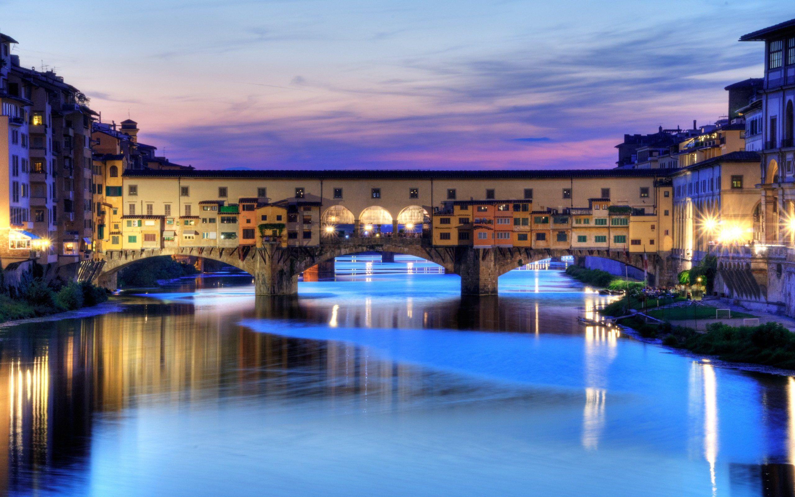 Beautiful Florence Bridge Italy - Beautiful Florence Bridge Italy