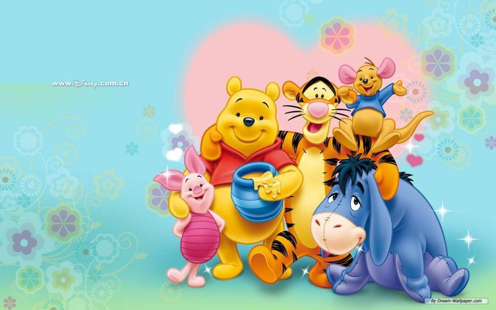 Blooming Winnie The Pooh Family - Blooming Winnie The Pooh Family