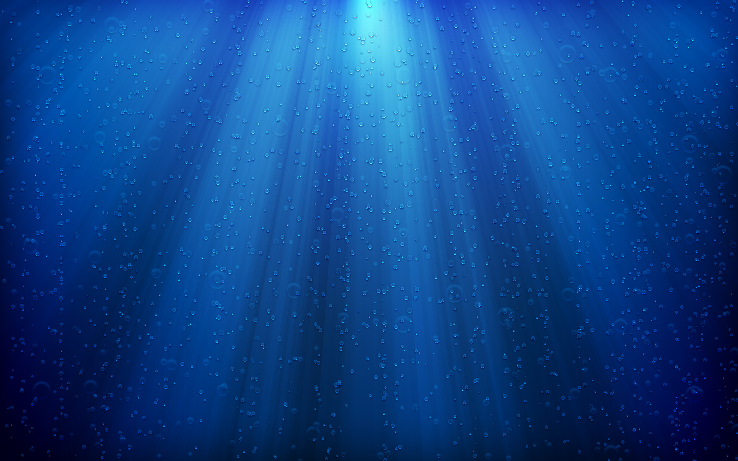 Blue Deep Sea Wallpaper Water