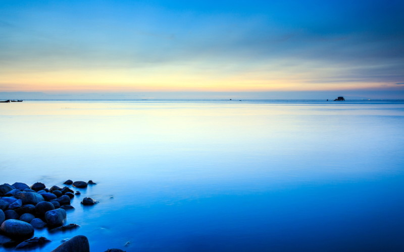 Clearly Blue Sky On The Beach - Clearly Blue Sky On The Beach