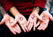 Couple Hands Up Love - Couple Hands Up Love