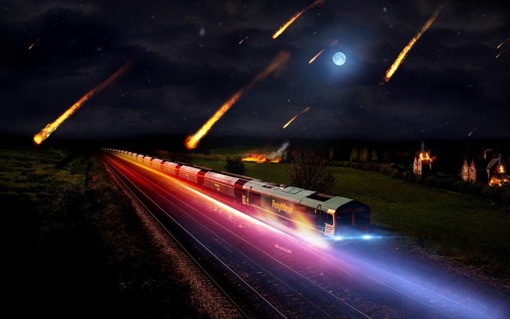 Creepy Asteroid Storm Train - Creepy Asteroid Storm Train
