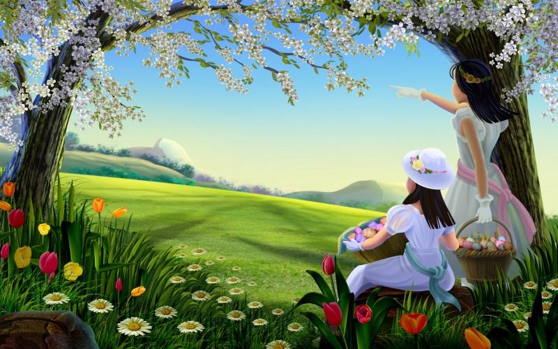 Fairy Tale Natural Cartoon - Fairy Tale Natural Cartoon