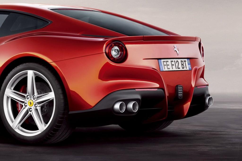 Ferrari F12 Berlinetta Back Side - Ferrari F12 Berlinetta Back Side