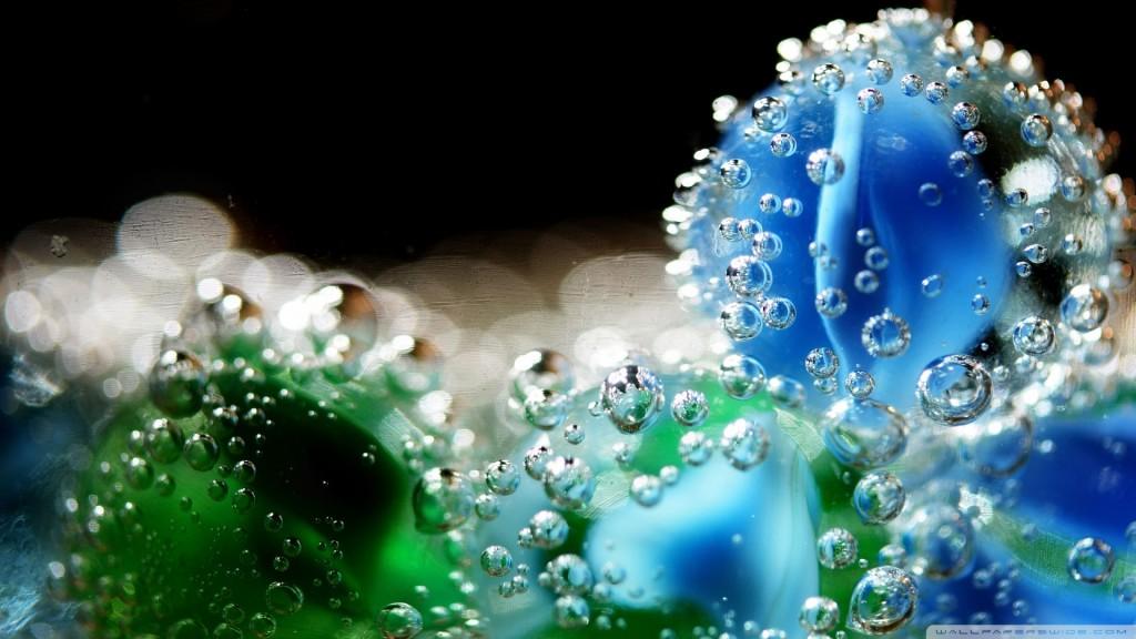 Flower Bubbles Underwater - Flower Bubbles Underwater