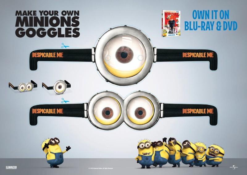 Funny Minions Goggles - Funny Minions Goggles