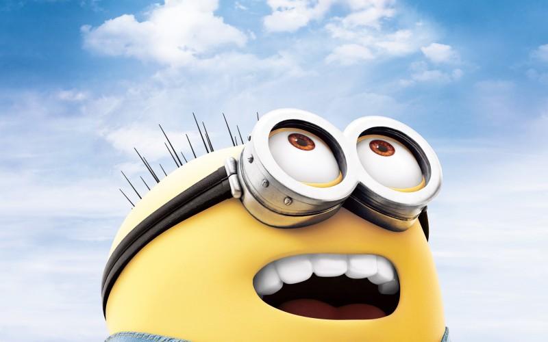 Minion Look Up To The Sky - Minion Look Up To The Sky