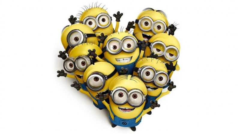Minions Shaped Of The Heart - Minions Shaped Of The Heart
