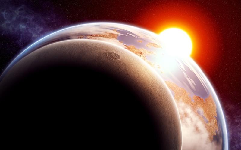 Moon Eclipse Widescreen - Moon Eclipse Widescreen