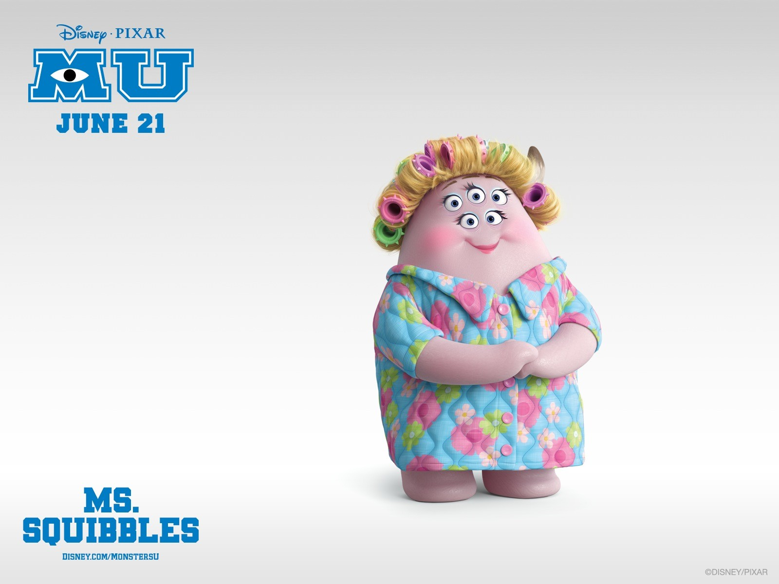 Ms Squibbles Monsters University - Ms Squibbles Monsters University