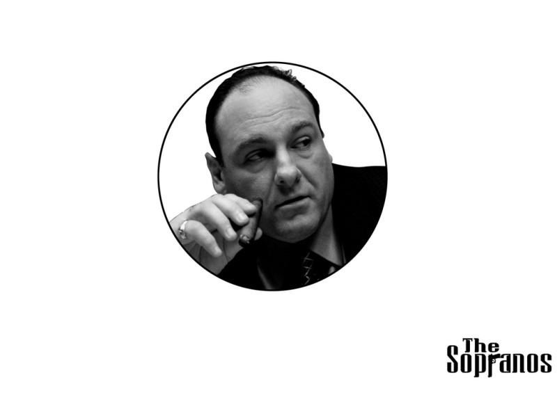 The Sopranos James Gandolfini - The Sopranos James Gandolfini