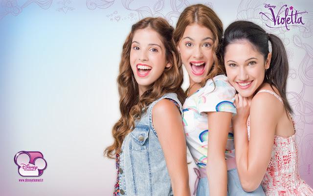Violetta Camilla Fancesca Girls - Violetta Camilla Fancesca Girls