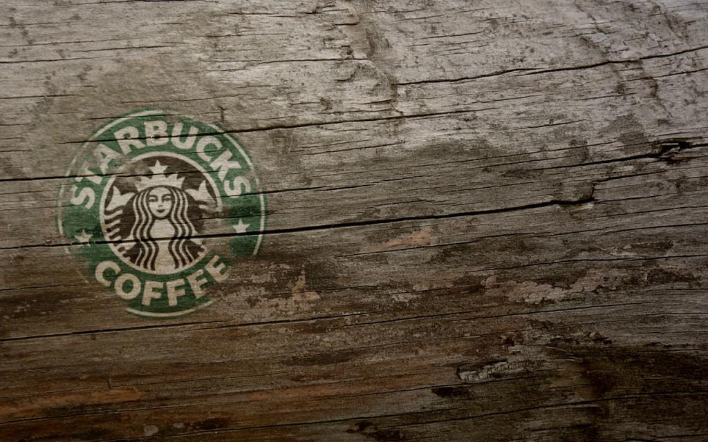 Wooden Starbucks Coffee - Wooden Starbucks Coffee