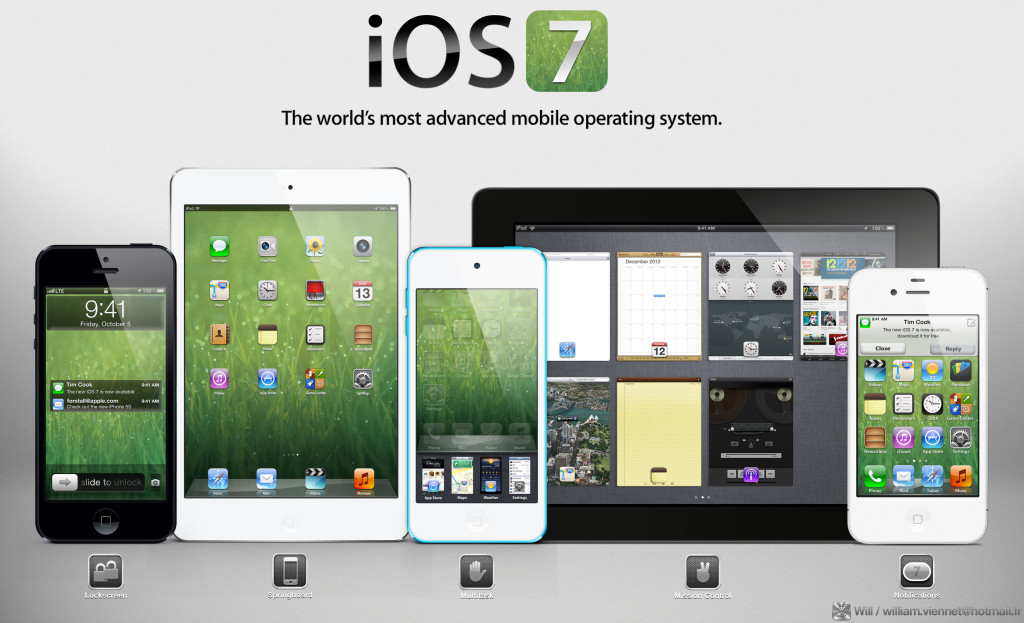 iOs 7 Gadget Widescreen - iOs 7 Gadget Widescreen
