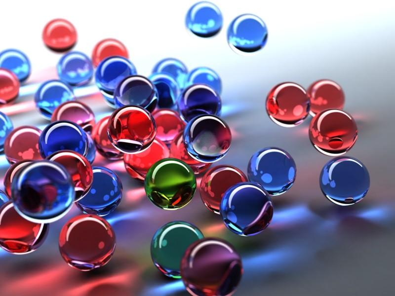 3D Crystal Bubbles - 3D Crystal Bubbles