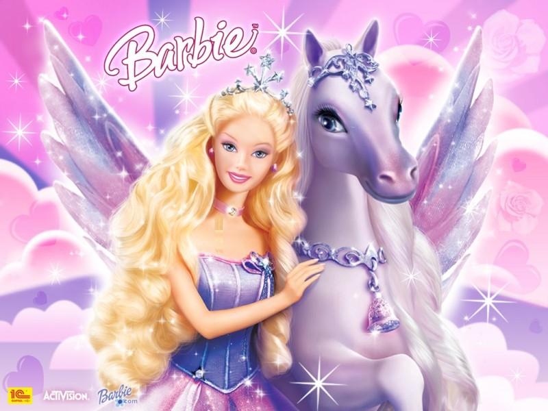 Barbie And Unicorn - Barbie And Unicorn