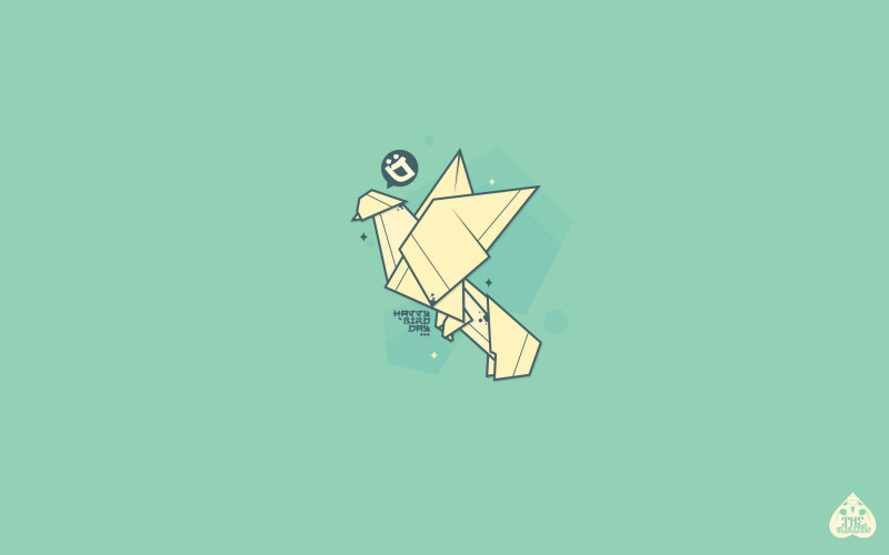 Birds Origami Desktop - Birds Origami Desktop