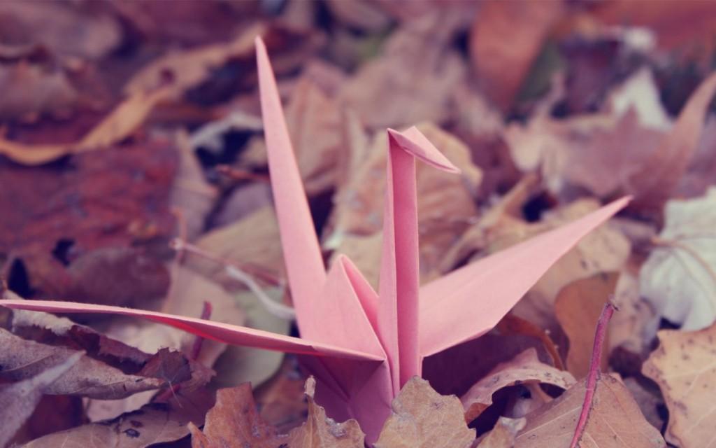 Birds Origami Widescreen - Birds Origami Widescreen