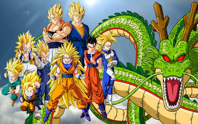 Goku And Friends Dragonball - Goku And Friends Dragonball