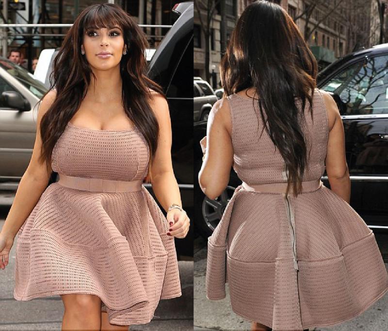 Kim Kardashian Pregnant Stylish - Kim Kardashian Pregnant Stylish