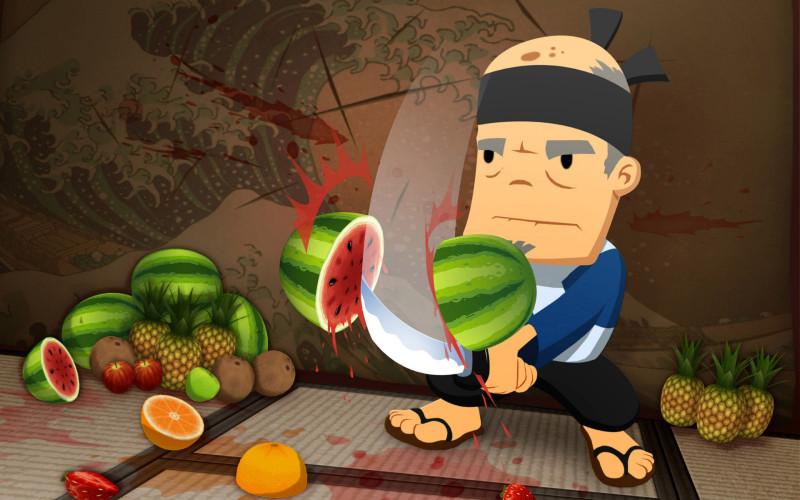 Ninjas Grandfa Fruit Ninja - Ninjas Grandfa Fruit Ninja