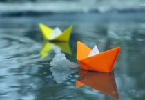 Origami Paper Boat - Origami Paper Boat