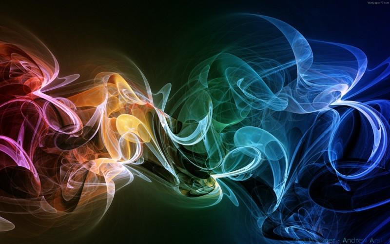 Abstract Smoked Colour - Abstract Smoked Colour