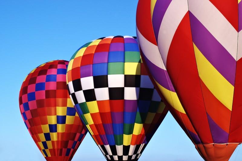 Colorfull Hot Air Balloons - Colorfull Hot Air Balloons