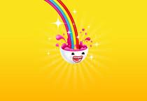 Juicy Rainbow Vector - Juicy Rainbow Vector